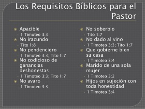 RequisitosPastor