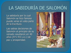 SabiduriaSalomon