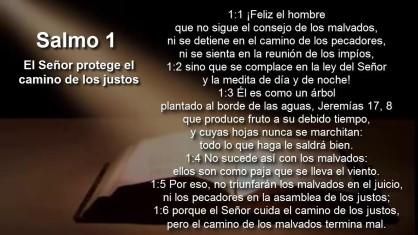 Salmo 1 Judio Mesianicos netzarim