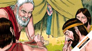 Abraham y los 3 angeles Gematria