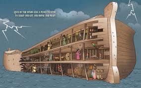 3 pisos Arca Noe