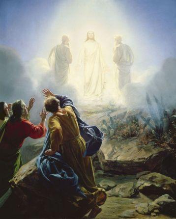 transfguración de Jesus