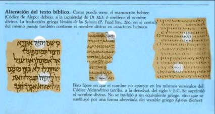 alteraciones texto biblico